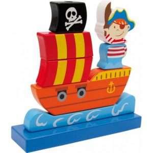Vascello Nave Pirata ad Incastro