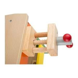 banco di lavoro in legno per bambini