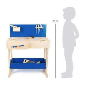 banco di lavoro per bambini in legno