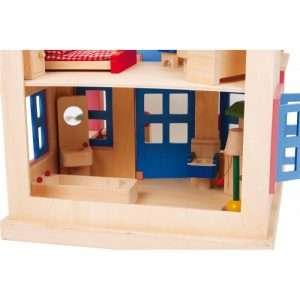 casa delle bambole clara in legno