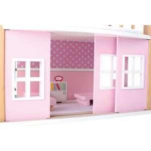 Casa delle bambole girevole