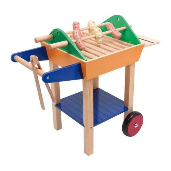 Party Grill in legno per bambini