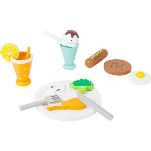 Set da gioco pausa pranzo