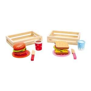 Set hamburger e sandwich