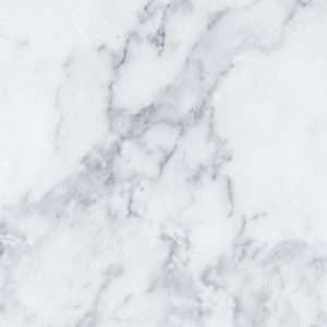 Carta da parati effetto marmo bianco